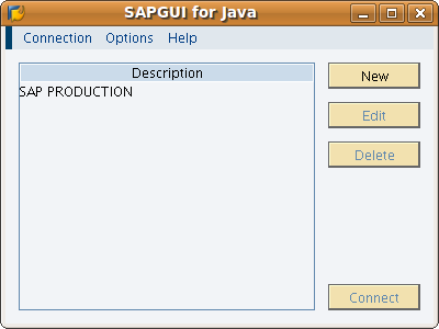Screenshot-SAPGUI for Java